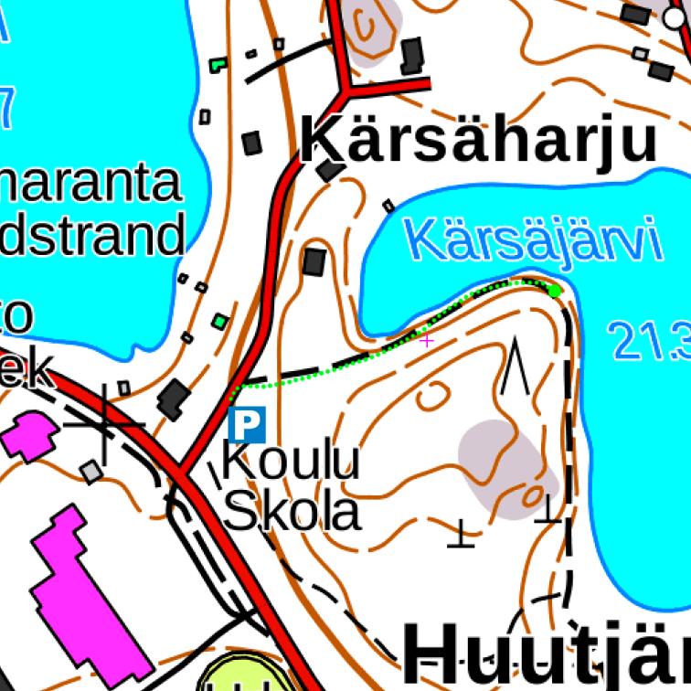 kärsäjärvi-kartta